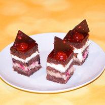 mini prajitura fructe padure 2