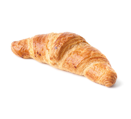 croissant cu unt