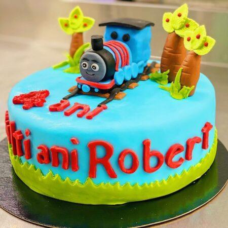 The Thomas train_cake_square