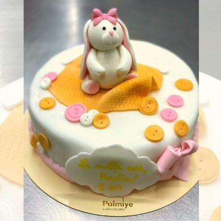 White bunny_cake_square